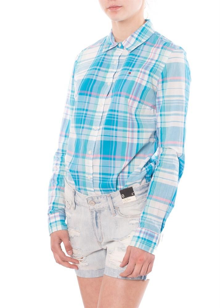 Купить женскую рубашку Tommy Hilfiger в интернет-магазине Brands73 76d9ccb0d3591
