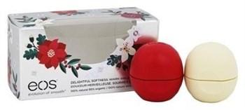 Набор бальзамов для губ EOS, ягоды и ваниль - фото 11083