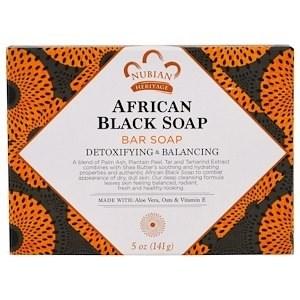 Африканское черное мыло Nubian Heritage - фото 11084