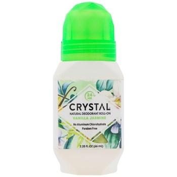 Роликовый дезодорант Crystal Body Deodorant Crystal Essence, ваниль-жасмин - фото 14877