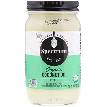 Органическое кокосовое масло Spectrum Naturals - фото 15332