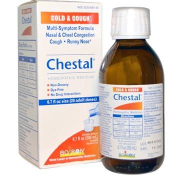 Средство от простуды и кашля Boiron Chestal - фото 4802