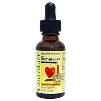 Эхинацея ChildLife Essentials, с натуральным вкусом апельсина - фото 4828