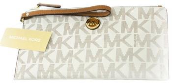 Клатч Michael Kors Vanilla Logo - фото 5293