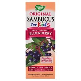 Nature's Way, Original Sambucus для детей, бузина, 8 жидких унций (240 мл)