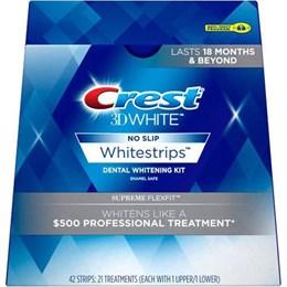 Отбеливающие полоски для зубов Crest Supreme Flexfit,тон 6-7
