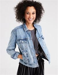 Джинсовая куртка American Eagle outfitters голубая