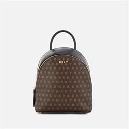 Кросс-боди рюкзак DKNY (коричневый лого)
