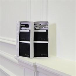 Подарочный набор Calvin Klein (портмоне, картхолдер, брелок)