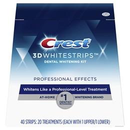 Отбеливающие полоски Crest 3D Whitestrips Professional Effects