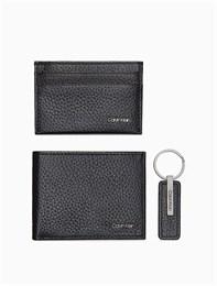 Подарочный набор Calvin Klein (кошелек+картхолдер+брелок)