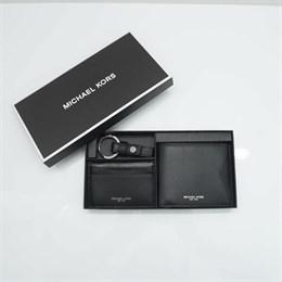 Подарочный набор Michael Kors (кошелек+картхолдер+брелок)