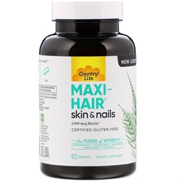 Витамины Country Life Maxi-Hair