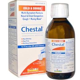 Средство от простуды и кашля Boiron Chestal