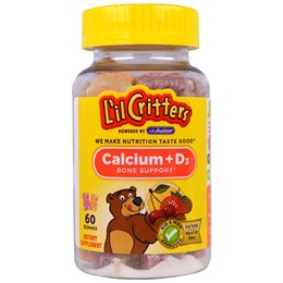 Кальций + витамин D3 L'il Critters