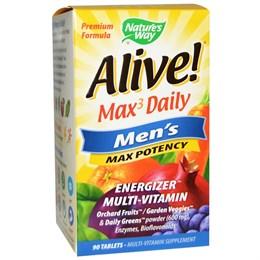 Мультивитамины Nature's Way Alive! Max3 Daily «Максимальная мужская энергия»