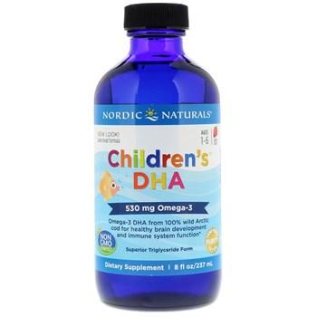 Омега-3 для детей Nordic Naturals, со вкусом клубники 257 ml жидкие - фото 16137