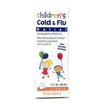 Средство от простуды и гриппа для детей NatraBio - фото 16140