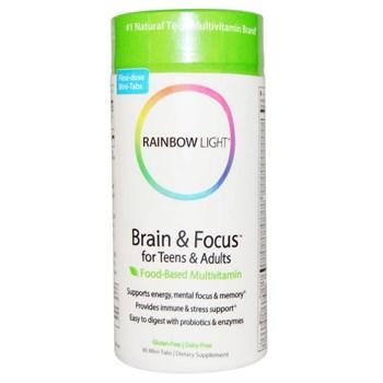Мультивитамины для развития памяти Rainbow Light - фото 6533