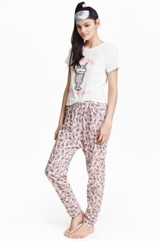 Пижама H&M - фото 8883