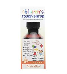 Детский сироп от кашля NatraBio