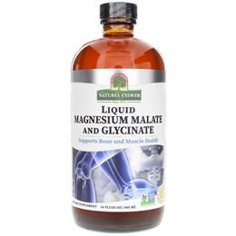 Nature's Answer, Liquid Magnesium Malate and Glycinate (Жидкий малат и глицинат магния), 480 мл (16 жидких унций)