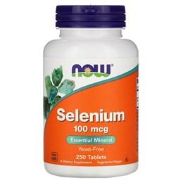 Now Foods, Селен, 100 мкг, 250 таблеток