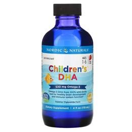 Омега-3 для детей Nordic Naturals, со вкусом клубники жидкие