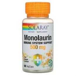 Solaray, Monolaurin, 500 mg, 60 Veggie Caps