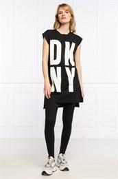 Удлиненная футболка DKNY