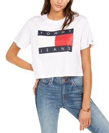 Укороченная футболка Tommy Hilfiger Jeans