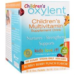 Мультивитаминный напиток для детей Vitalah Oxylent, шипучие ягоды