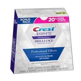 Отбеливающие полоски для зубов Crest Brilliance Professional Effects, тон 5-6